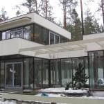 Isolerade glasparti för ny och tillbyggnad